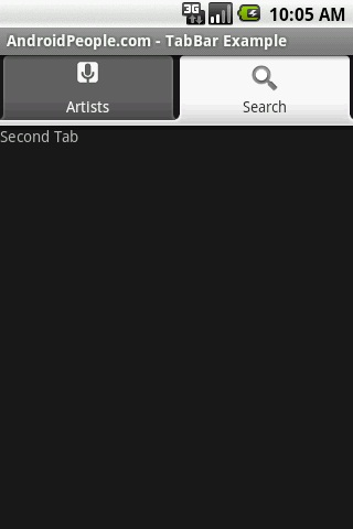 TabLayout/TabHost Tutorial For Android (Reusing Layout